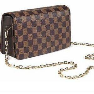 Daisy Rose checkered crossbody purse
